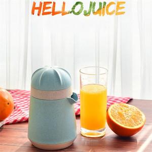 Tenu pratique Juicer de paille de blé main Manuel Juicer Maker machine fruits bleu citron outil Gadget Nouveau pressage Arrivée 12dm E19