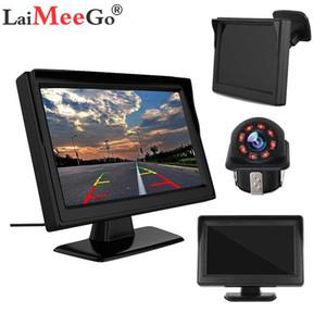 Автомобильный монитор 5-дюймовый TFT LCD автомобиля Reverse заднего вида камеры ИК Универсальный Зеркало для помощи при парковке: Cruze / Epica