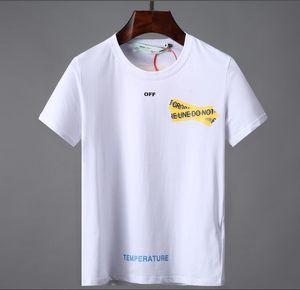 Lettre de mode T-shirt de coton imprimé 20Men O-Neck manches courtes T-shirt Marque d'été Casual Male Hommes Hip Hop Rock design T-shirts 0023 # Tops