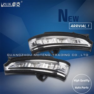 ZUK Brand New Rearview Side Mirror Turn Signal LED Light Outer Mirror Lamp Repeater For FORD MONDEO 2013 2014 2015 DS73-13B380-B