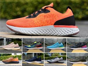 2020 En İyi Fly Erkek Ayakkabı Koleji Donanma Üçlü Siyah Koyu Gri Örme erkekler Sport Sneakers Eğitmenler 7-11 Koşu Tepki