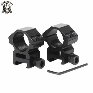 """1 Pair (2pcs)  lot Hunting Scope Mount 25.4mm   1"""" Inch Rings for Weaver Picatinny 20mm Rail For Optics Sight Accessories Hunting Caza"""