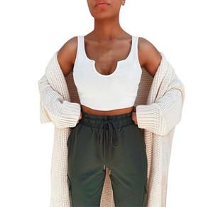 Los tanques de Yoga para mujer atractiva de la manera del chaleco Camis Camis Tanques verano de las señoras Gallus Tamaño Camis deportes al aire libre S-XL