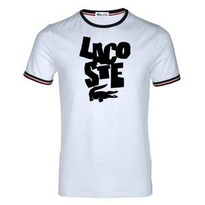 Adam için, Eşleşen Çift Giysi Gökkuşağı renkli mektup tasarım Lover için Rahat Çift T-Shirt Yaz Marka Kısa Kollu Tees