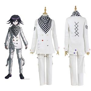 Anime Danganronpa V3 Ouma Kokichi Cosplay giapponese gioco School Uniform Suit Outfit Y200109