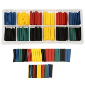280PCS set Assortment Ratio 2:1 Heat Shrink Tubing Tube Sleeve Sleeving for Wrap Kit With Box Electronic Supplies