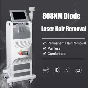 kadınlar Lazer Makinesi için en iyi fiyat diyot lazer 808nm ağrısız epilasyon makinenin soprano lazer 808 cilt bakım epilasyon