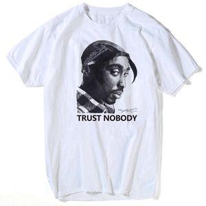 Tupac Shakur 2pac maglietta di Hip Hop T-shirt Makaveli rapper Snoop Dogg Biggie Smalls eminem J Cole Jay-Z Savage hip hop musica rap