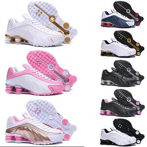 Entrega RZ 301 zapatillas de running para hombre mujer oro negro triple blanco DELIVER OZ NZ Zapatillas deportivas deportivas Zapatillas de deporte