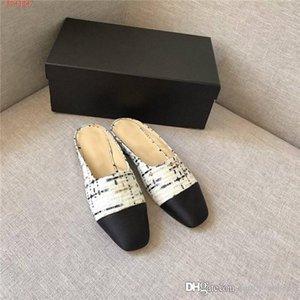 Son Kadınlar Klasik Deri Düz Nedensel Ayakkabı renk yarım terlik çeşitli seçim bayan için sandal Slip terlik