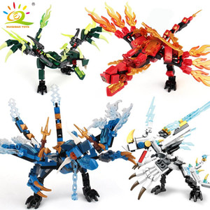 Ninja Dragon Knight Model Building Blocks KAI JAY ZANE Figures MAN Bricks toys for children boy friends gift
