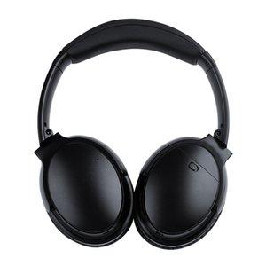 핫 V12 높은 ANC 무선 헤드폰 능동형 소음 취소 블루투스 헤드셋 스테레오 게임 Bluedio 마샬