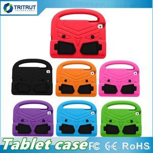 Kinder Kindergriffe Ständer Soft EVA Cover Tablet Silikonhülle Sparrow Shockproof Safe Case für iPad Mini 1 2 3 4 Air neue Pro 9.7 MQ20