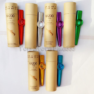 زيبرا المعادن Kazoo المحمولة خفيفة الوزن للمبتدئين الفلوت صك عشاق الموسيقى آلات النفخ تصميم بسيط خفيفة الوزن
