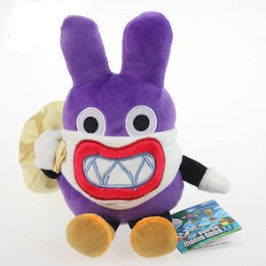 Super Mario Bros. Thief Nabbit Rabbit Totten Plush Toy Stuffed Animal Doll Gifts