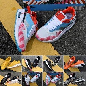 air max 87 airmax 87 og Anniversary 1 OG tênis de qualidade superior sneaker treinador sports shoes tamanho 36-45 frete grátis com caixa