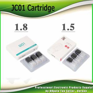 Originale OVNS JC01 cartuccia 0.7ml 1.5ohm 1.8ohm ceramica bobina vape pods atomizzatore per olio denso ed E serbatoio liquido 100% genuino