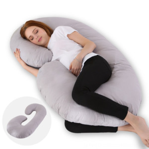 Type C pregnant women multi-functional waist protection side maternity pillow sleeping pillow can be OEM in batch