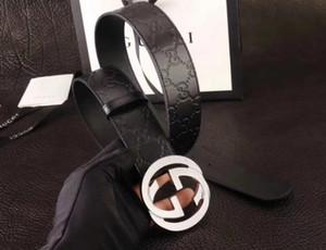 Width2020 Moda creiamo vendita classici Hot nuovo Mens cintura nera delle donne genuine cinghie di cuoio del puro business cintura di colore Consegna gratuita ingegno