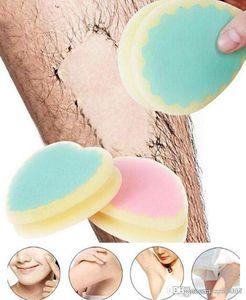 Depilação Magia indolor Depilação Sponge Pad Remover Facial Remoção Leg Arm cabelo Body Cream Ferramenta Epilator1 Pcs cabelo de alta qualidade