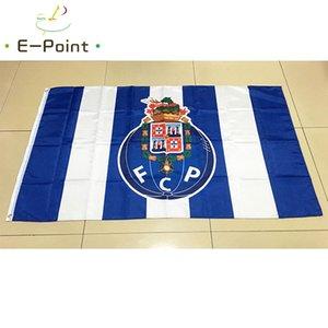 FC Porto Flag Big Size 3 * 5 Fuß (90cm * 150cm) Polyester EPL Flagge Banner Dekoration nach Hause fliegen Garten Flagge Festliche Geschenke