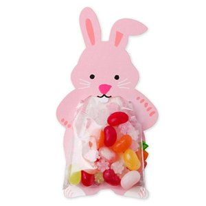 10pcs lot Cute Animal Bear Rabbit Candy Bags Cookie Bags Gift Bags Greeting Cards Baby Shower Birthday Party Candy Box