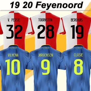 2019 20 V. Feyenoord PERSIE para hombre de fútbol jerseys Toornstra JORGENSEN Home Away Camisetas de fútbol Uniformes VILHENA Clasie LARSSON Berghuis cortos