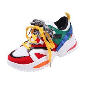 100% SUPERIORE qualità vendono autunno-inverno scarpe da corsa 17FW Triple-S pelle e maglia fitta Soled tripla S Assorbimento 2.0 Sneakers sportive gratis