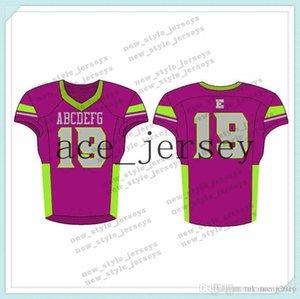 105Men 2019 jeunes Football Maillots Armée verte Vin rouge broderie Logos Cousu sur mesure Tout nom Tout numéro Jerseys