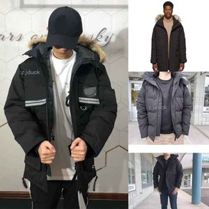 Top Quality New Mens Fashion parka Waterproof Windstopper Advanced Fabric Thick Down With Real Wolf Fur Winter Keep Warm Jacket coat fact