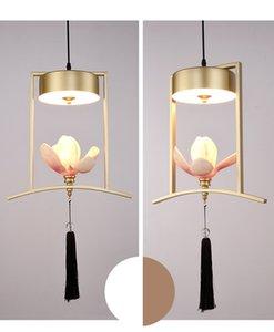 Creativo nuovo cinese piccolo lampadario ristorante bar singola testa lampadario personalità in stile cinese tavolo balcone arte luce