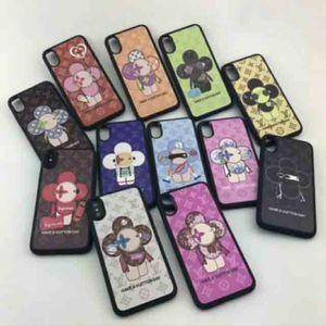 Vogue phone case para iphone x 8 plus 7 7 plus 6 6 s além de anti-choque smartphone pele shell capa com popular abelha flor cobra impressão