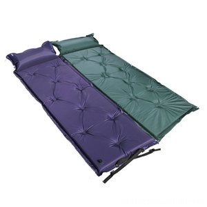 Outdoor Automatic Inflatable Picnic Mat Air Bed Matress Portable Sleeping Hiking and Camping Camping & Hiking Pad with Pillow camping matras