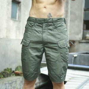 Erkek Tasarımcı Sportshorts Yaz Yeni Erkek Şort Ekose Kumaş Açık tulumları Pantolon Şort Casual Plaj Pantolon 2020 Yeni Sıcak Satış