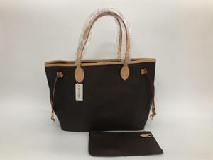 nuovo 40 centimetri PU della borsa del cuoio del sacchetto di spalla tote ragazza borsa donna borsa messenger libera la nave 40995 con una frizione Wallet