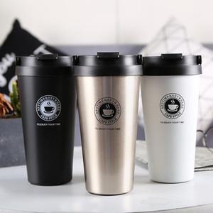 Двустенных из нержавеющей стали термосы 500мл Термо чашка кофе чай молоко кружка Thermol бутылки Thermocup Термосы