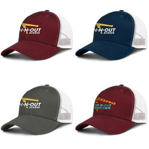 Unisex in-n-out burger Adjustable Trucker Cap Dad Cool Popular Fashion Baseball Hat In-N-Out Burger Neon Sign
