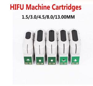 HIFU cartucce per High Intensity Focused Ultrasound HIFU macchina 1,5 millimetri / 3mm / 4.5mm / 8mm / 13 millimetri Per Face Lift rimozione delle rughe corpo dimagrante