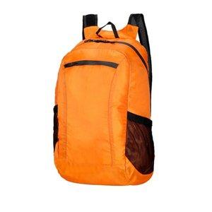 Портативный Открытый Спорт Путешествия Легкий Свободный Складной Отдых Туризм Регулируемый ремень водостойкой Packable Рюкзак