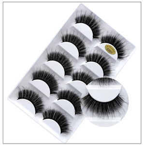 3D Mink Eyelashes Eye makeup Mink False lashes Soft Natural Thick Fake Eyelashes 3D Eye Lashes Extension Beauty Tools 12 styles DHL Free