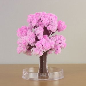 Christmas Gift Paper Tree Magic Growing Tree Toy Boys Girls Novelty Xmas Gift Hot Sale A Magic Growing Tree For Kids Best Gifts Christmas De