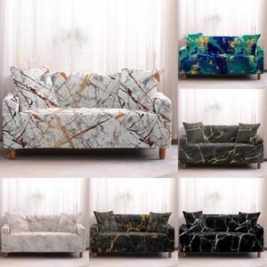 Slipcovers Sofa Cover Marmo Modello Divano copre asciugamano mobilia del salone di protezione Poltrona divani