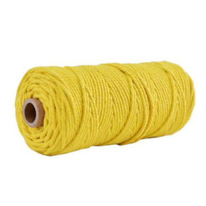 Rolo torcida do cabo 3 milímetros Cotton Cordas Drawstrings para scrapbooks Rope Natural Craft colorido