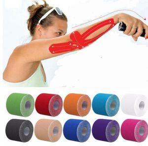 Kinesio Tape Muscle Bandage Sports Cinesiologia fita rolo Elastic Adhesive Strain Injury Muscle Etiqueta Cinesiologia fita KKA4434