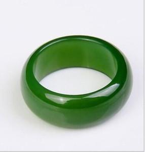 Natürliche Xinjiang Hetian Jade Jade Ring Männliche und weibliche Modelle nackten Stein original Stein Jade Ring Schmuck