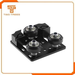 D Impression Pièces Imprimante 3D Accessoires V-Slot Openbuilds curseur axe Y en aluminium boucle plaque 2020 Profil aluminium avec bel timing ...