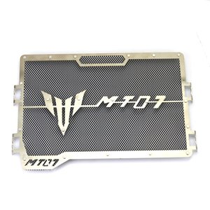 Motorcycle Accessories MT-07 Water Tank Net Street Car MT07 Protective Net Flying Stone Fence Water Tank Cover