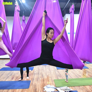 PRIMA DI IDONEITÀ 7 metri di tessuto Yoga Hammock Anti Gravity accessori Yoga trazione aerea dispositivo fitness
