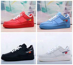 2020 Forças MCA Universidade 1s Chicago azuis Running Shoes Moda Mens Womans 1 Trainers Designer Sports Basketball Sneakers 36-45