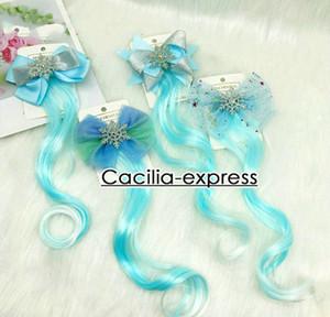 agradável peruca arco de cabelo neve headwear hairpin CLIP infantil MENINA Accessor cabelo